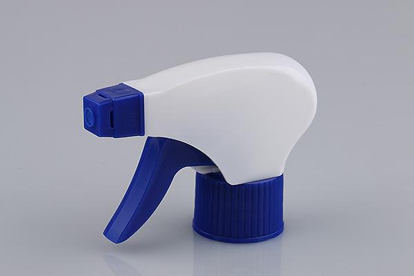 Foam Bottle Trigger Sprayer blue white